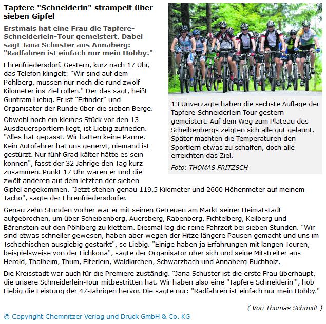 Freie Presse 2014