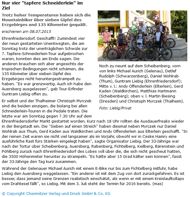 Freie Presse 2015 2